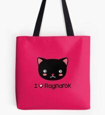 I Love Ragnarok (Cat) Tote Bag