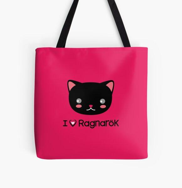 I Love Ragnarok (Cat) All Over Print Tote Bag