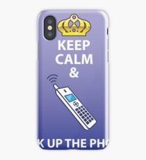 Keep Calm and Pick Up iPhone Case/Skin