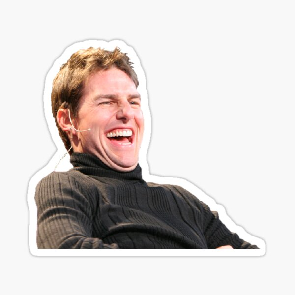 Laughing Cruise Sticker