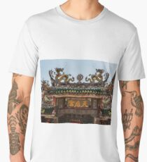 Penang Temple Roof Art - Malaysia Men's Premium T-Shirt
