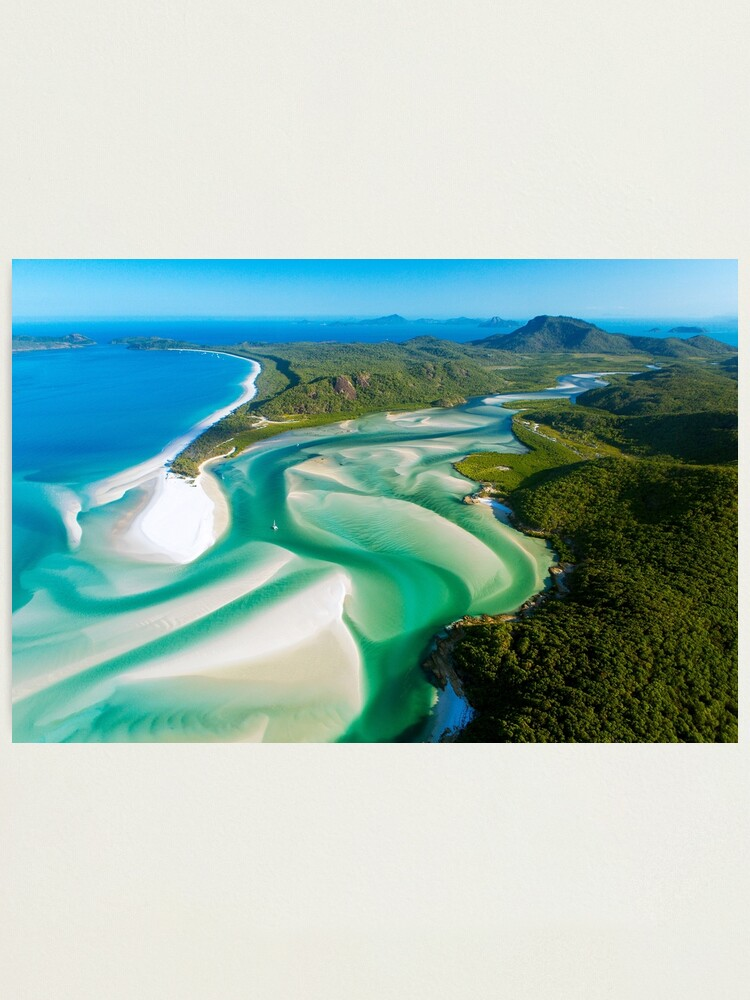 Alternate view of Hill Inlet, Queensland Photographic Print
