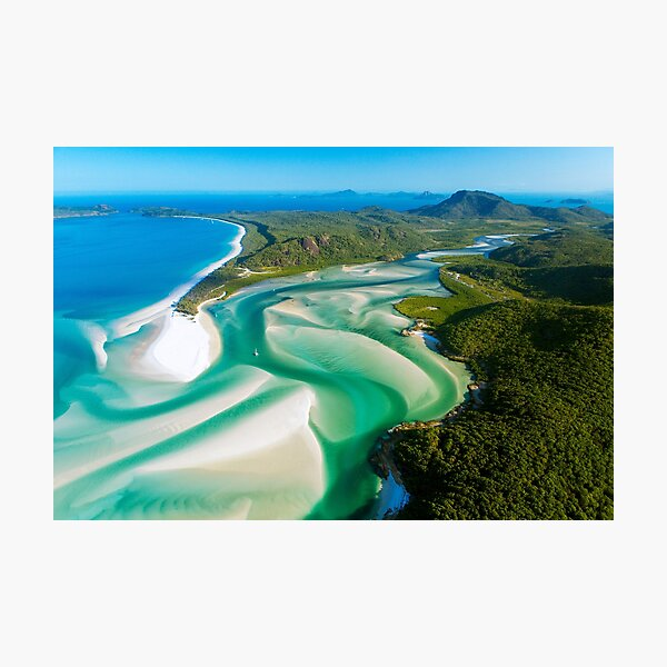 Hill Inlet, Queensland Photographic Print