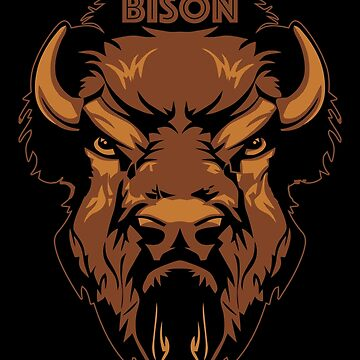 Bison by Abili-Tees