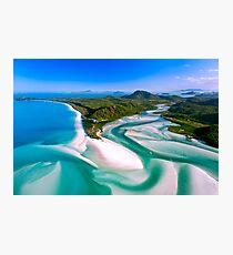 Hill Inlet - Whitsundays Queensland, Australia Photographic Print