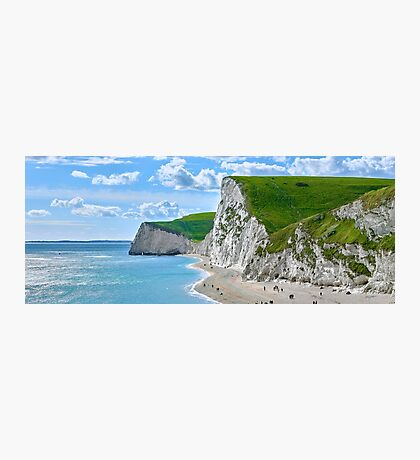 White Cliffs of Durdle Photographic Print