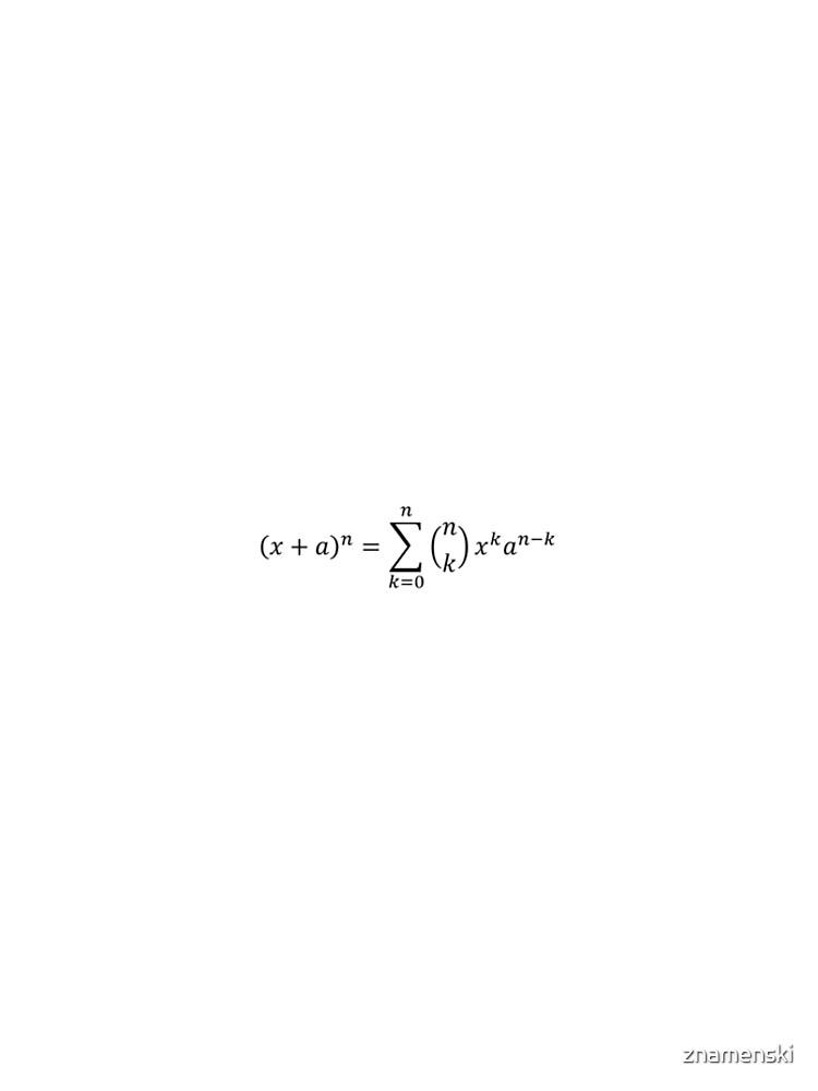 (x+a)^n by znamenski