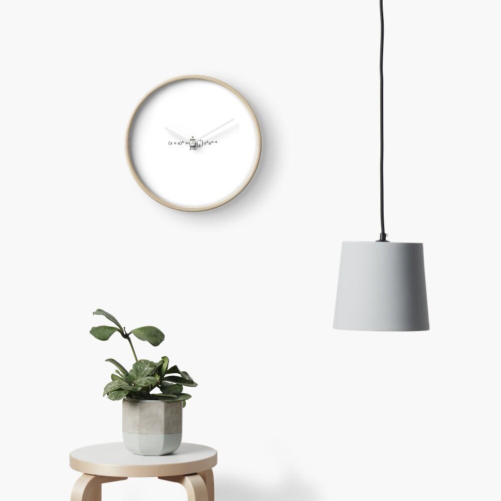 (x+a)^n Clock