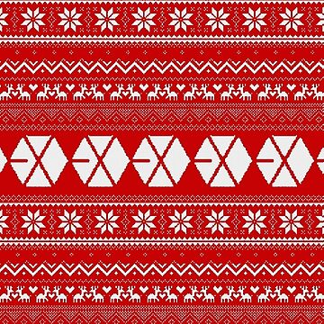 EXO Christmas - Red by Going-Kokoshop