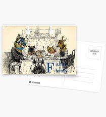 F is for Family Postcards
