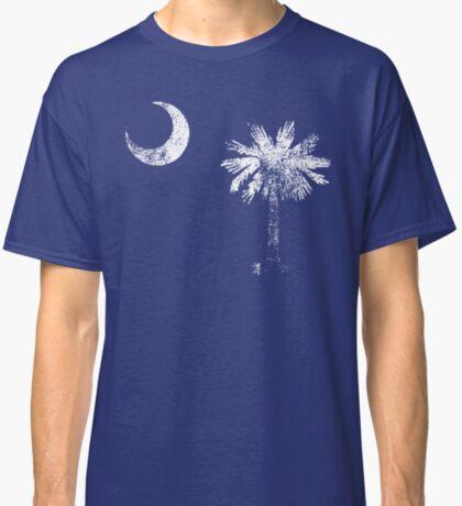 South Carolina Vintage Distressed Flag Classic T-Shirt