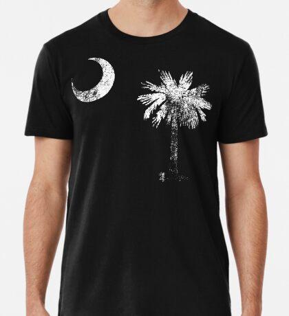 South Carolina Vintage Distressed Flag Premium T-Shirt