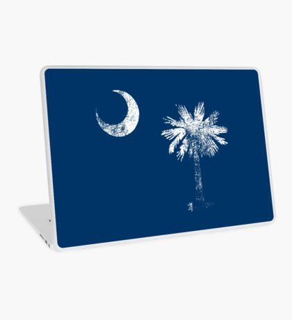 South Carolina Vintage Distressed Flag Laptop Skin