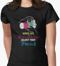 Funny Photography Saying Gifts For Artist Photographer Camera Lover T-Shirt