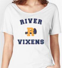 Vixens High School R Logo Women's Relaxed Fit T-Shirt