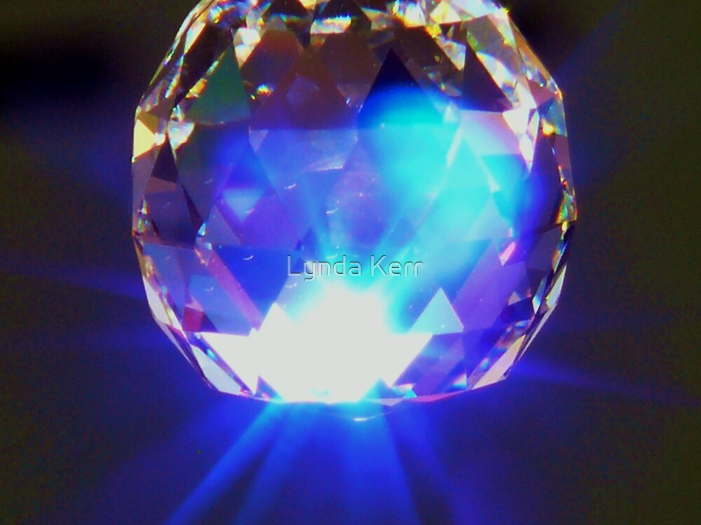 Crystal Colours Purple by Lynda Kerr