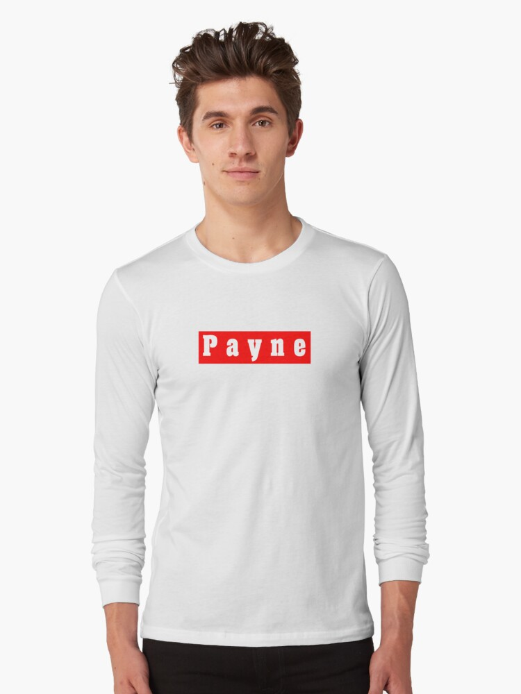 Payne Long Sleeve T-Shirt Front