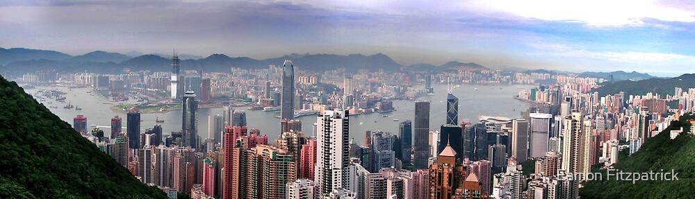 THE PEAK, HONG KONG by Eamon Fitzpatrick