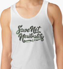 Save Net Neutrality Tank Top