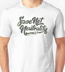 Save Net Neutrality Slim Fit T-Shirt