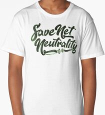 Save Net Neutrality Long T-Shirt