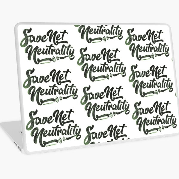 Save Net Neutrality Laptop Skin