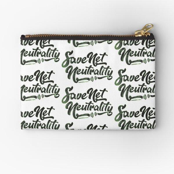 Save Net Neutrality Zipper Pouch