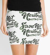 Save Net Neutrality Mini Skirt