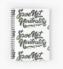 Save Net Neutrality Spiral Notebook