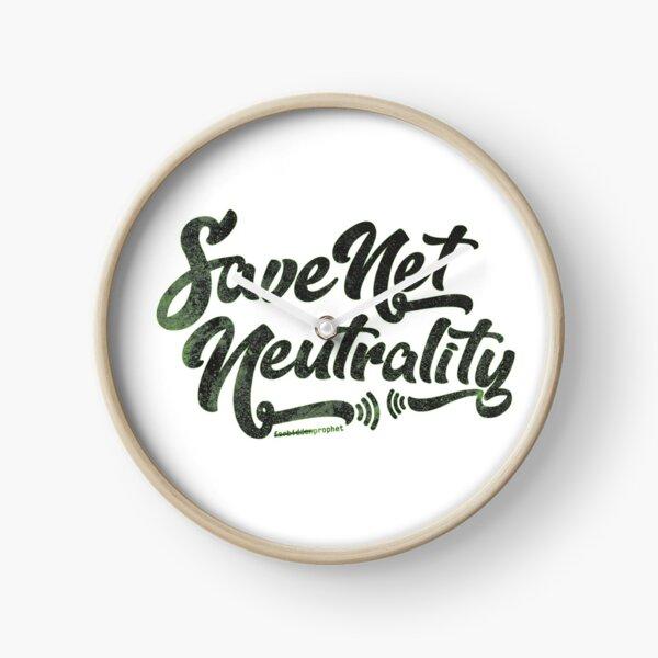 Save Net Neutrality Clock