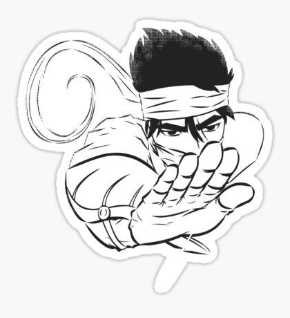 Ninjutsu! Art 37: invisible strike! Sticker