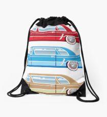 Vintage Car  Drawstring Bag
