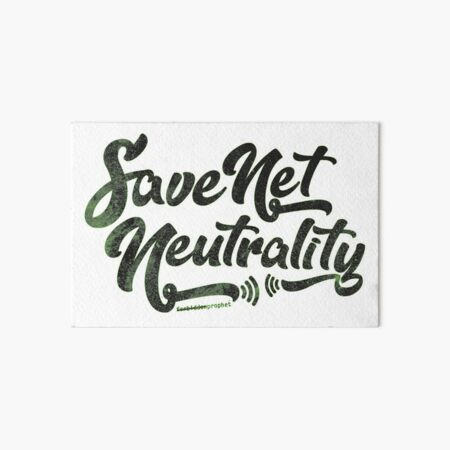 Save Net Neutrality Art Board Print