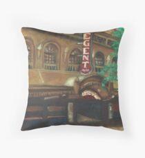 The Regent Cinema Throw Pillow