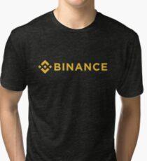 Binance T-Shirt - Crypto Shirt - T-Shirt Tri-blend T-Shirt