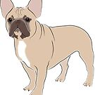 Just A French Bulldog - Fawn by grumpyteds