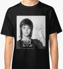 Jane Fonda Mug Shot Vertical Classic T-Shirt