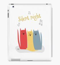 Cats Choir: Silent Night iPad Case/Skin