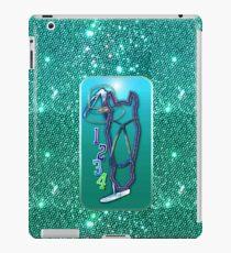 Pferd glitzer türkis Horse glimmer turquoise iPad-Hülle & Skin