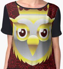 Royal Owl Women's Chiffon Top