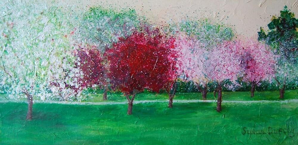 Parkland Blossoms by Susan Scott