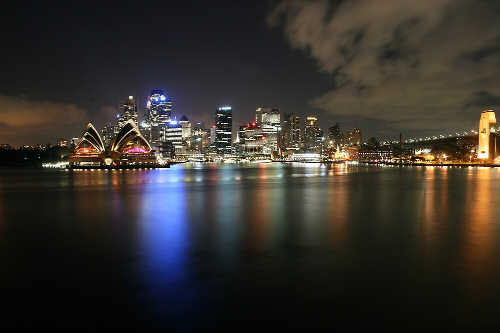 Sydney Opera House and CBD by Martin Levett