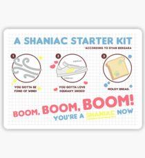 shaniac starter kit Sticker
