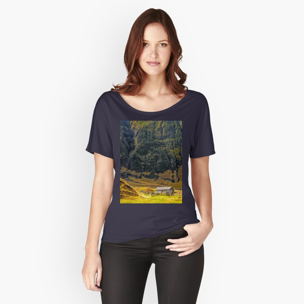 Cabin in the Wilderness Women's Relaxed Fit T-Shirt Front