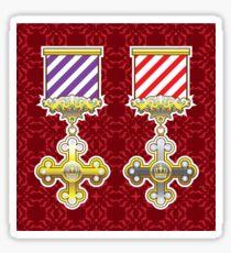 Royal Medal Sticker