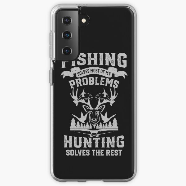 Funny Fishing and Hunting Samsung Galaxy Soft Case
