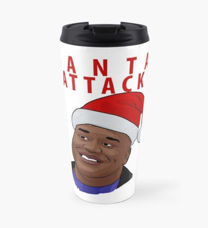 Santa Attack Travel Mug