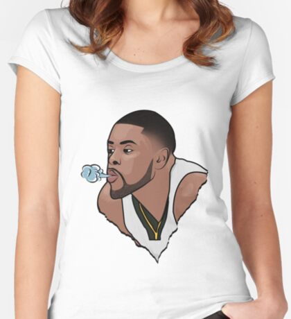 Blowing in the Wind Women's Fitted Scoop T-Shirt