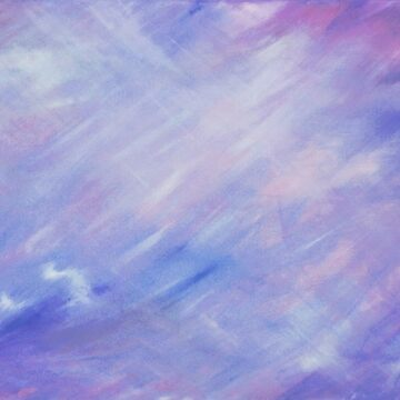 Ultra violet purple abstract float painting by sarahtrett