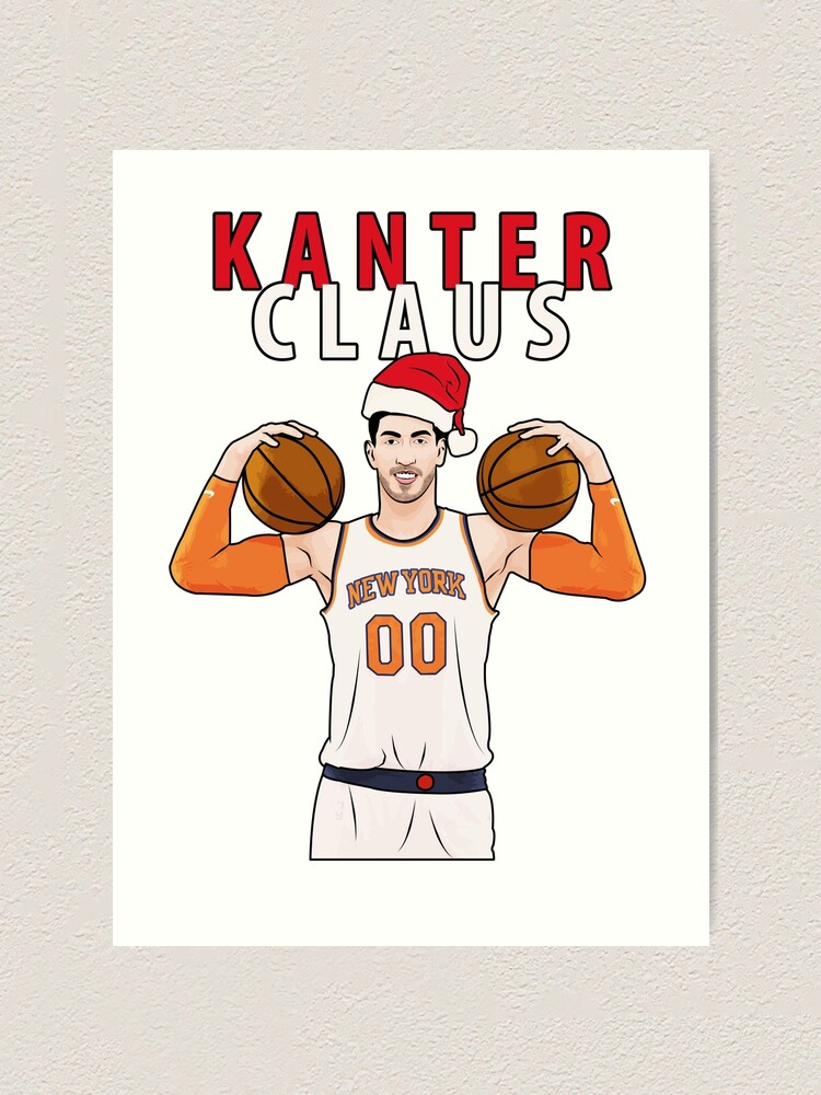Alternate view of Kanter Claus Art Print